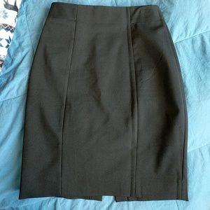 H&M size 4 black Pencil skirt